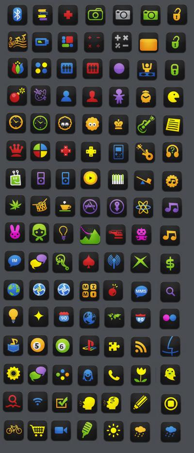 neon иконки: