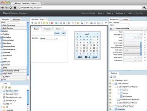 редактор html5