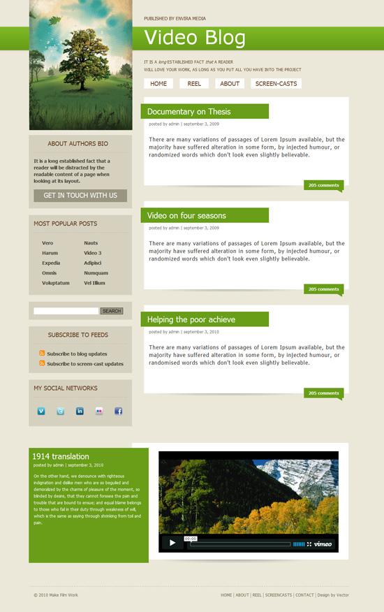 Как сделать сайт на шаблоне html