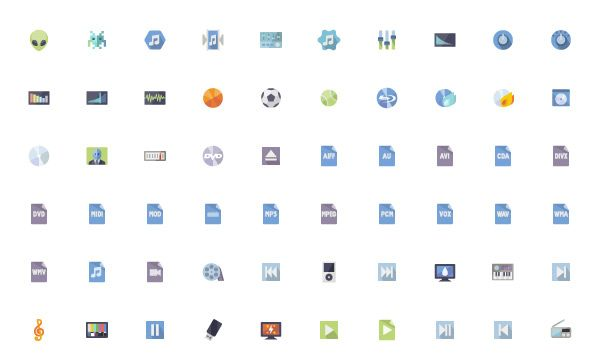 free-mobile-icon-sets
