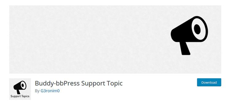 Buddy-bbPress Support Topic