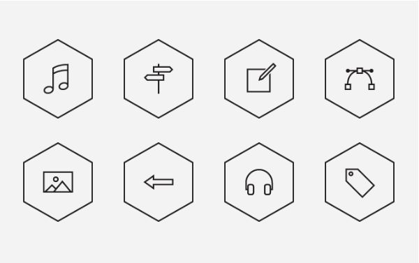 best-free-icons-polygon-icon-set