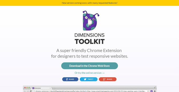 Dimensions Toolkit превью