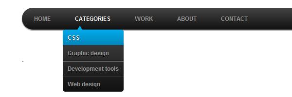 Как сделать меню в html и css 359