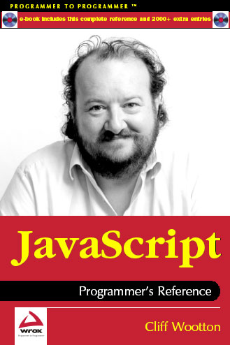 javascript programmers reference alexei white