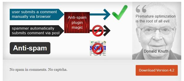 12 бесплатных антиспам плагинов для WordPress