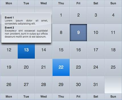 Как сделать свой календарь на javascript 441